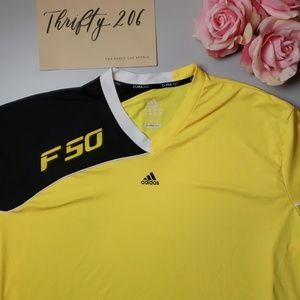 [Adidas] Clima365 | F50 | Vneck Soccer Shirt
